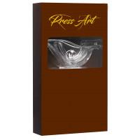 """Presse-citron """"Presse Art"""" (coffret prestige 4 pièces Chocolat)"""