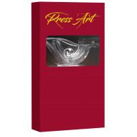 """Presse-citron """"Presse Art"""" (coffret prestige 4 pièces rouge)"""