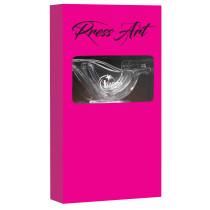 """Presse-citron """"Presse Art"""" (coffret prestige 4 pièces Rose)"""